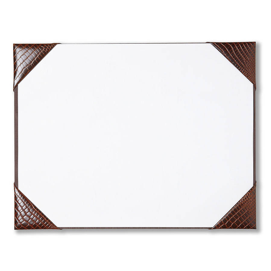 Desk Blotter Paper Pads By Leather Pad Waucust415b Wood Arts Universe